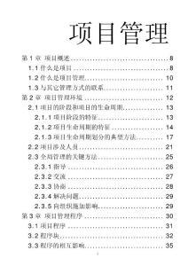 【豆丁精品】全面的项目管理文档