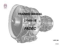 CFM56-5B 培训手册——fadec
