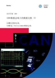 大众汽车CAN-BUS数据交换自学手册