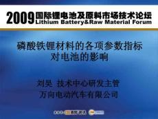 磷酸铁锂电池材料