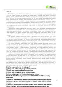 2012年英语专八(TEM8)考试备考冲刺阅读精选题(4)