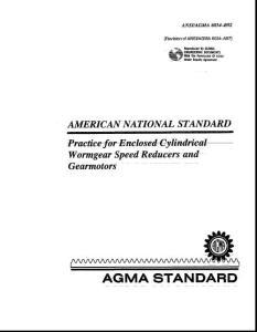 ANSI AGMA 6034-B92