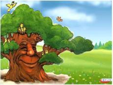 老树的故事课件PPT下载 北师大版一年级语文下册课件
