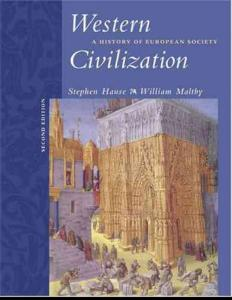 Western Civilization - A History of European Society