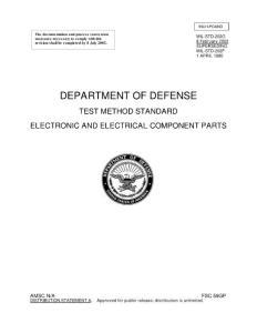 美国标准MIL-STD-202G全文
