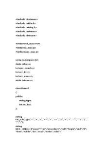 编译原理课程设计---语法分析(源代码 + 报告)