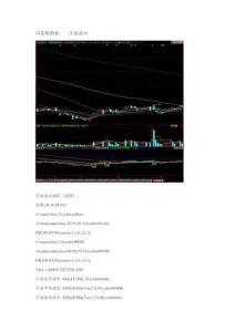 股票 选股公式 同花顺指标——庄家成本