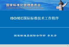 国际标准制定程序-李东方