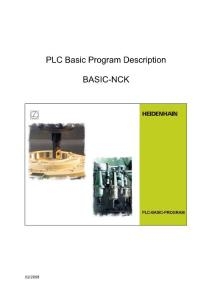 Description PLC Basic Program Basic-NCK