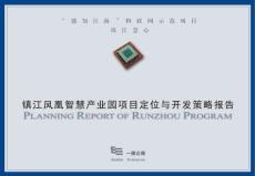 凤凰智慧产业园定位与开发策略报告
