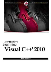 Visual C++2010入门经典英..