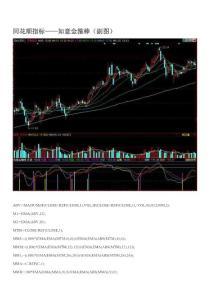 股票操作 选股公式 同花顺指标——如意金箍棒(副图)
