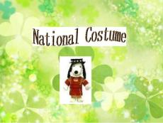 National costume 各国民族服装英文介绍
