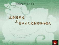 世界历史中考复习专题【精品-ppt】