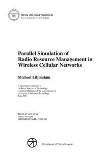 博士论文 Parallel Simulation of Radio Resource Management in Wireless Cellular Networks