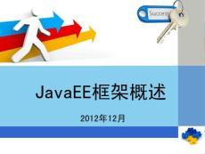 JavaEE框架概论_非常全面