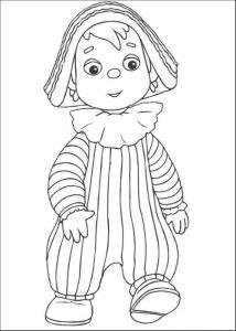 (52张)幼儿涂色画(安迪宝宝篇),打印出来来可以给孩子涂色