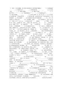 唐诗三百首测试题
