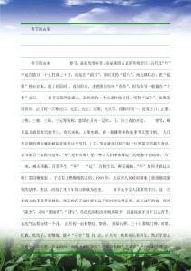 中国传统节日介绍—春节