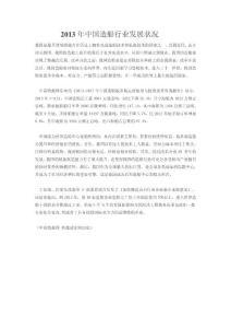 2013年中国造船行业发展状况