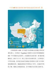 中国400城市按综合商业指数最新分级分析 图