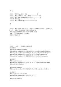 新版CCNP-BSCI中文实验手册