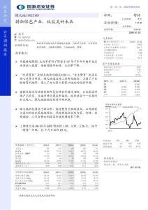 股票研究公司调研报告