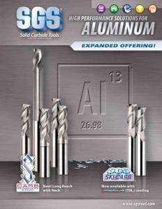SGS铝加工专用刀具系列
