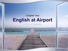 旅游专业英语课件1