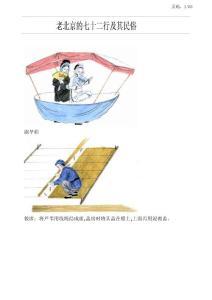 【历史文化】老北京的七十二行及其民俗