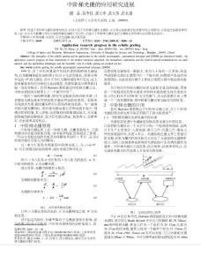 中阶梯光栅的应用研究进展