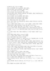 英语姓名词典(H)【外研社高玉华】3