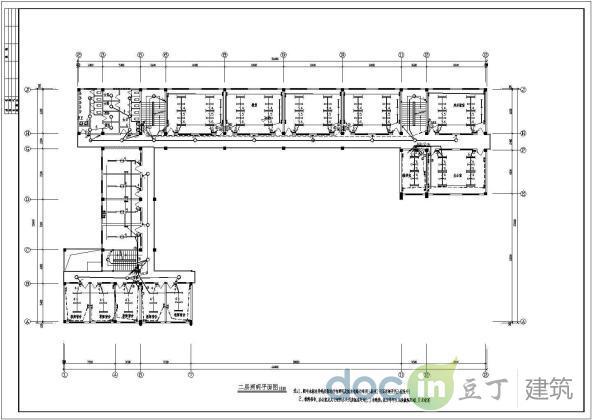 某地区教学楼电气设计方案施工图纸图片