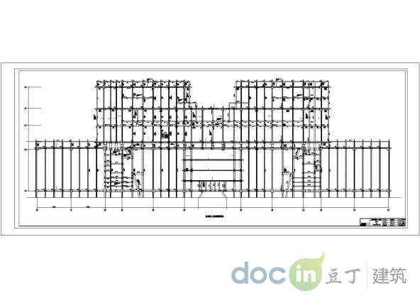 某火车站站房项目综合站房结构图