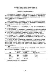 2003年江西省艾滋病流行病学调查报告