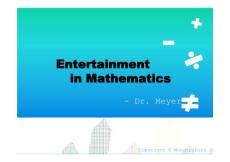 高等数学课1件PPT模板