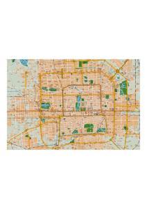 最新北京市高清版地图 最新北京中文版地图 清晰地图下载