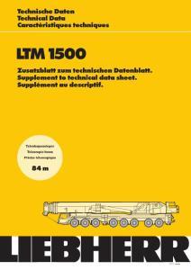 500t汽車吊性能表(利勃海爾)