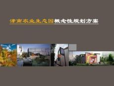 津南农业生态园概念性规划方案