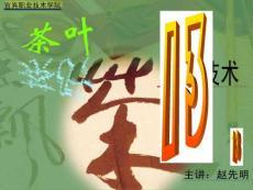 【食品课件】第七单元  黑茶初制 1