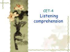 四级听力技能CET-4_short_conversations[资料]