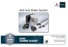 Anti-lock Brake System - Suzuki Auto South Africa(PDF-50)