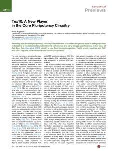 Cell Stem Cell;Volume 16, Issue 6, June 4, 2015