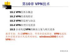 网络安全讲义第10章