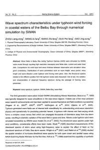 (2015专业论文)利用swan波浪模式研究北部湾海域台风浪场的波浪方向谱特征
