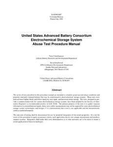 美國汽車用動力電池測試標準(精品pdf)