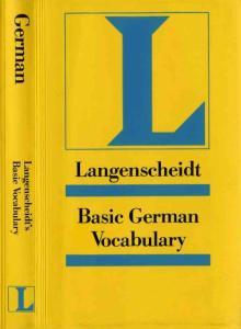 (德语 german) Langenscheidt Basic German Grammar (Only Text)