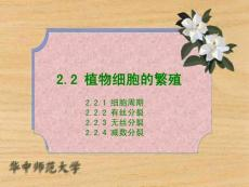 2.2 植物细胞的繁殖