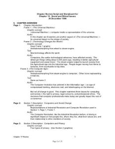 Chapter Review Script and Storyboard for - Lehigh …