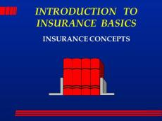 INTRODUCTION TO INSURANCE BASICS - America´s ...